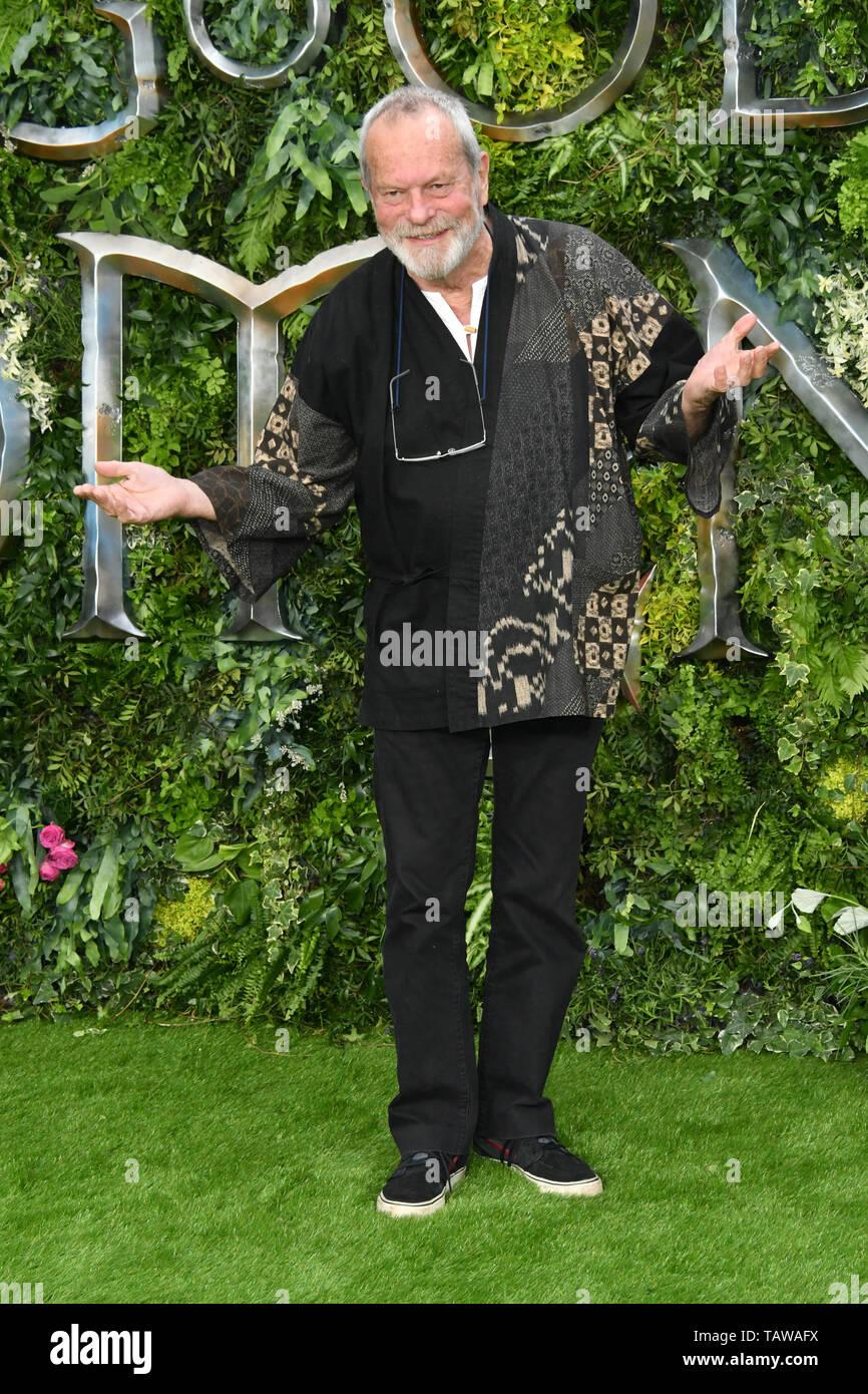 London, UK. 28th May, 2019. Good Omens TV premiere, London, UK Premiere of Good Omens at the Odeon Luxe Leicester Square. Credit: Nils Jorgensen/Alamy Live News - Stock Image