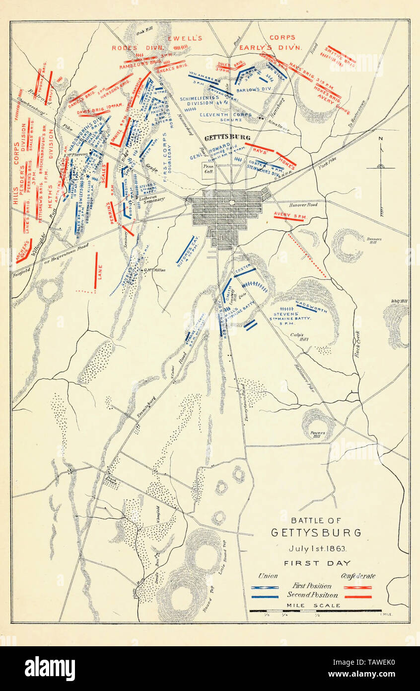 Map of Battle of Gettysburg, First Day, July 1, 1863 Stock ... Gettysburg Battle Map on gettysburg battlefield, gettysburg reenactment, gettysburg pa battlefield map, gettysburg chambersburg pike, american civil war, second battle of bull run, battle of shiloh, gettysburg war map, battle of antietam, gettysburg battlegrounds map, gettysburg soldiers, gettysburg map day 3, battle of chickamauga, robert e. lee, day-one gettysburg map, battle of fredericksburg, pickett's charge map, battle of chancellorsville, gettysburg pickett's charge, gettysburg on map, stonewall jackson, gettysburg pennsylvania map, first battle of bull run, bleeding kansas, george b. mcclellan, gettysburg college map, gettysburg artillery map, george meade, gettysburg before and after, united confederate states of america map, civil wars majors battles map, battle of vicksburg, gettysburg first day, gettysburg map day 2, emancipation proclamation, battle of fort sumter, confederate states of america, gettysburg day 2 summary, william tecumseh sherman,