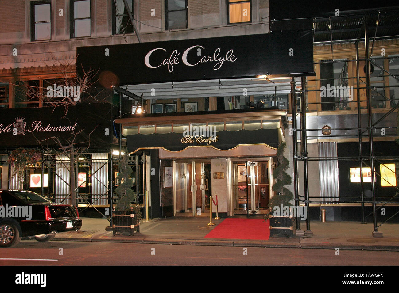 New York, USA. 24 February, 2008. Atmosphere at the 2008 NYC Oscar Party at The Carlyle. Credit: Steve Mack/Alamy - Stock Image
