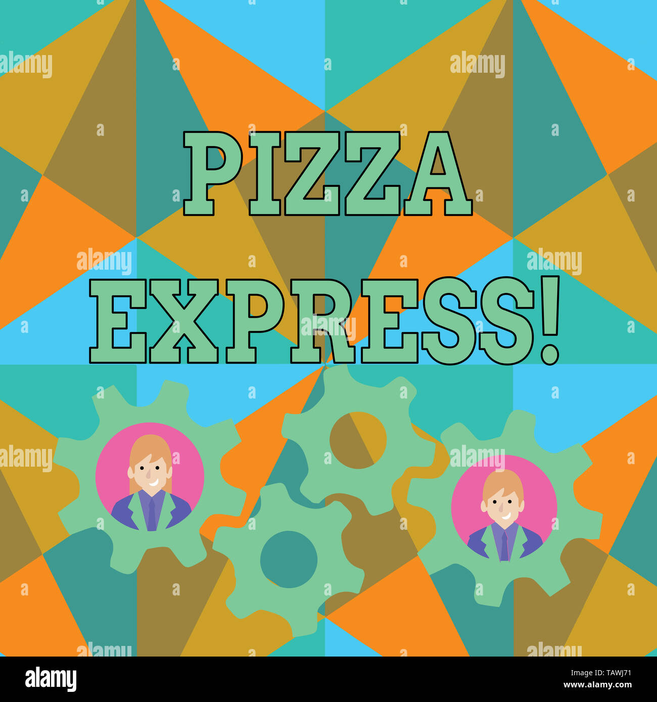 Pizza Express Pizza Restaurant People Stock Photos Pizza