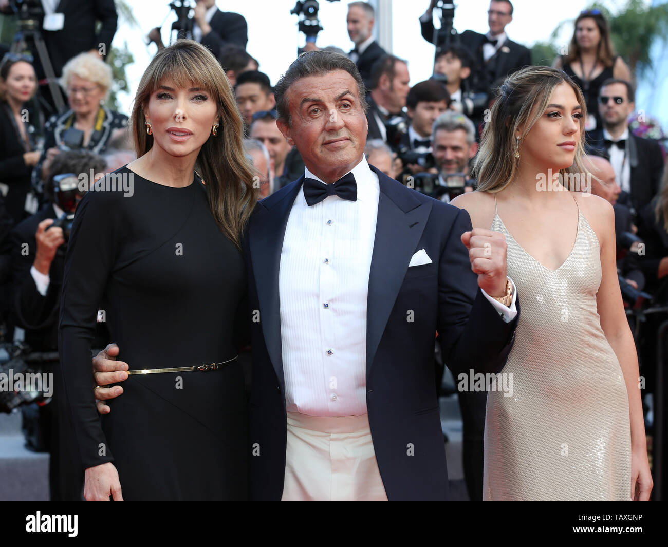 CANNES, FRANCE - MAY 25: Sylvester Stallone attends the Closing Ceremony of the 72nd Cannes Film Festival (Credit: Mickael Chavet/Project Daybreak/Ala - Stock Image