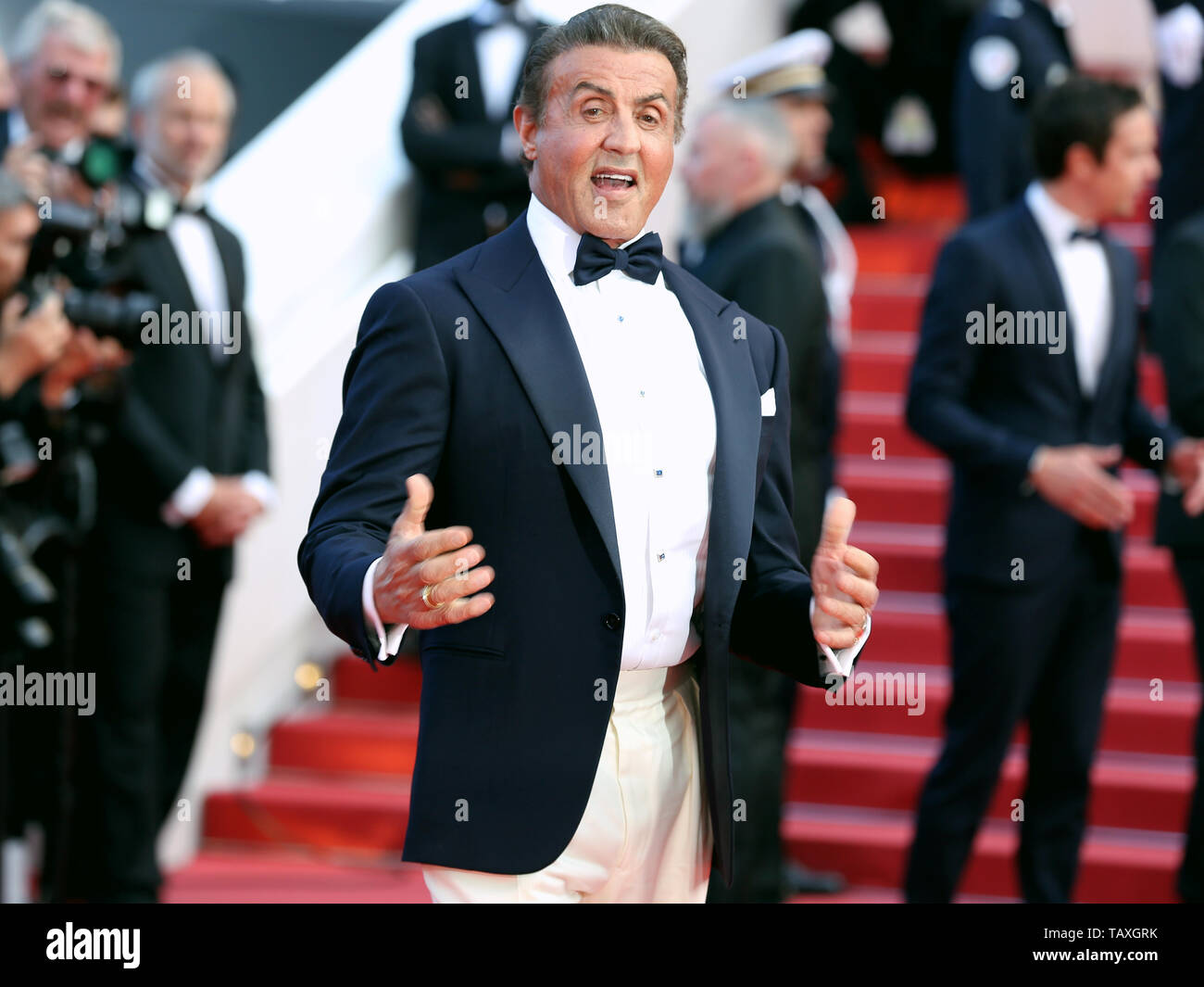 CANNES, FRANCE - MAY 25: Sylvester Stallone attends the Closing Ceremony of the 72nd Cannes Film Festival (Credit: Mickael Chavet/Project Daybreak/Ala Stock Photo
