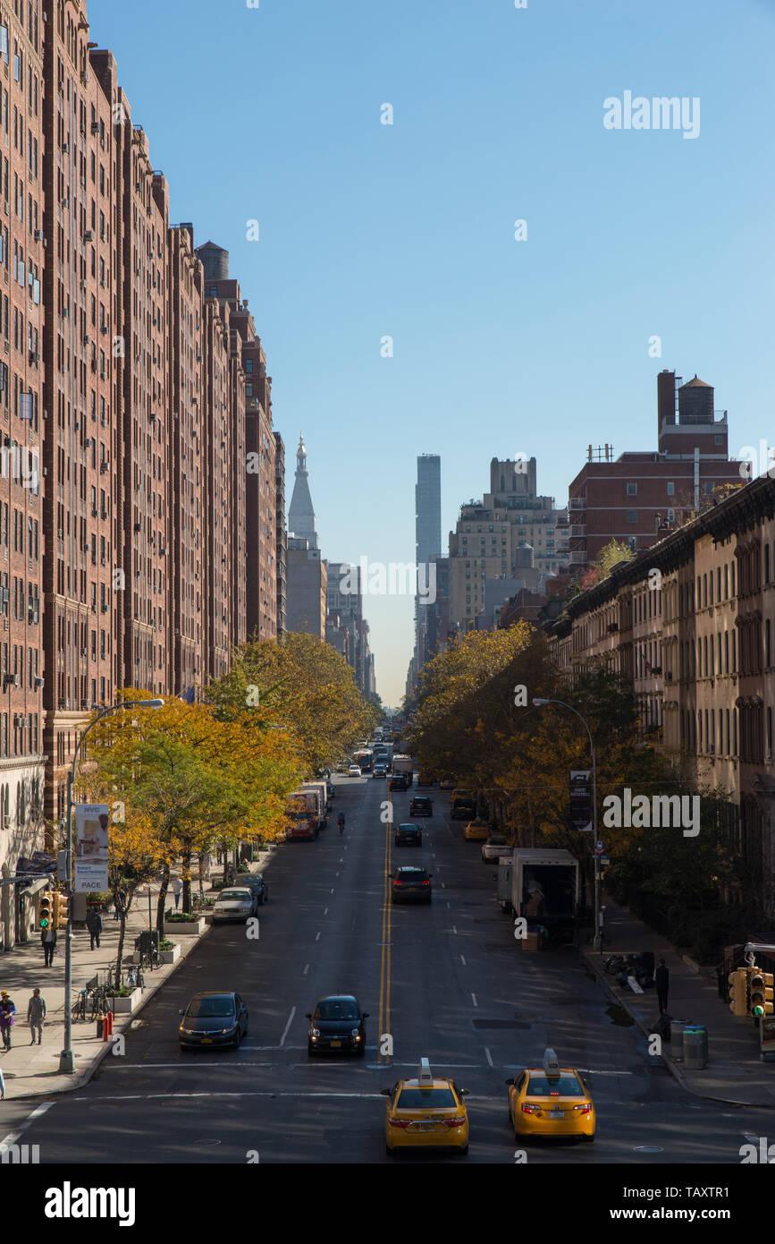 23rd street, Manhattan, New York, USA. Stock Photo