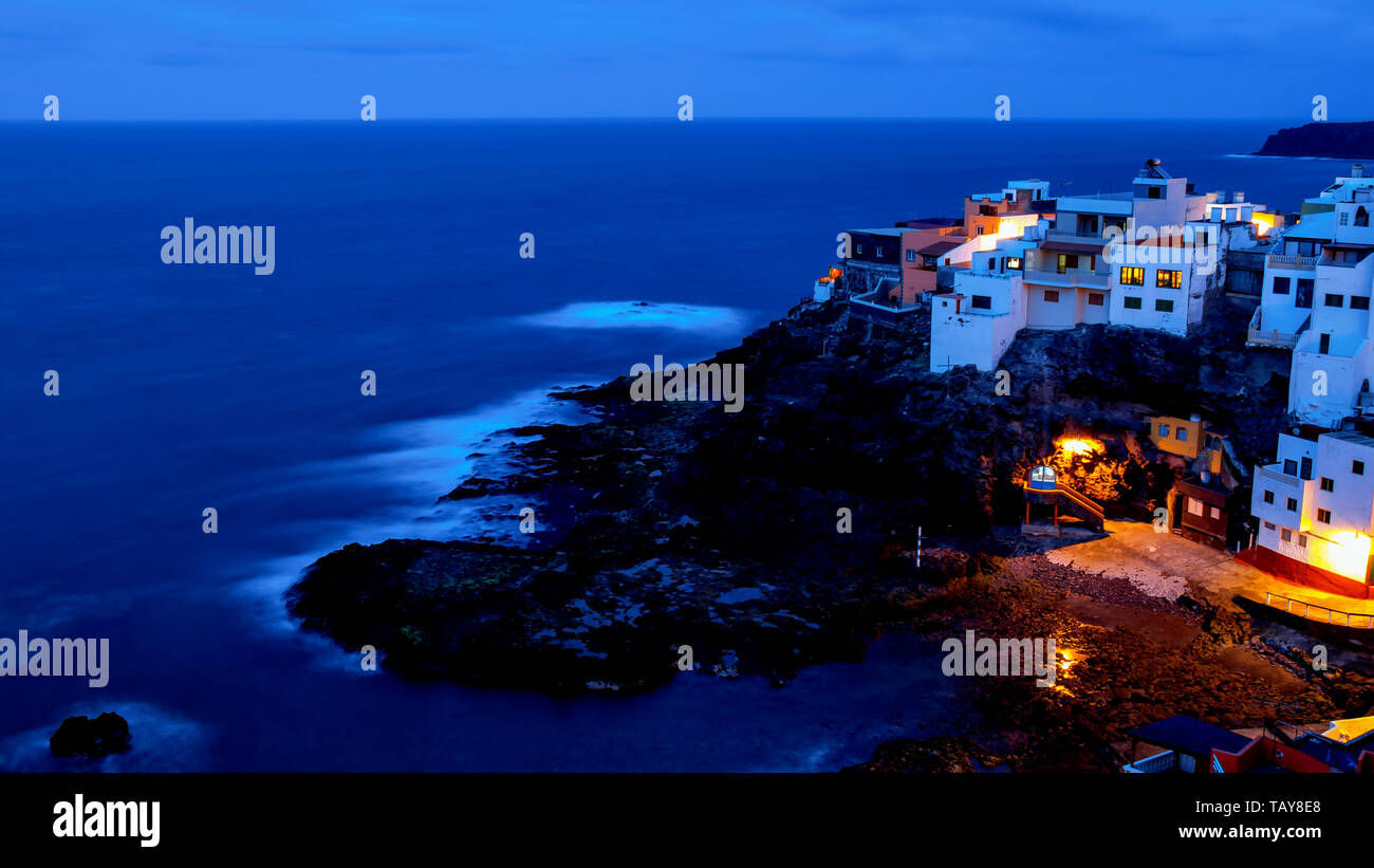 A beautiful corner on the island of Gran Canaria - Stock Image