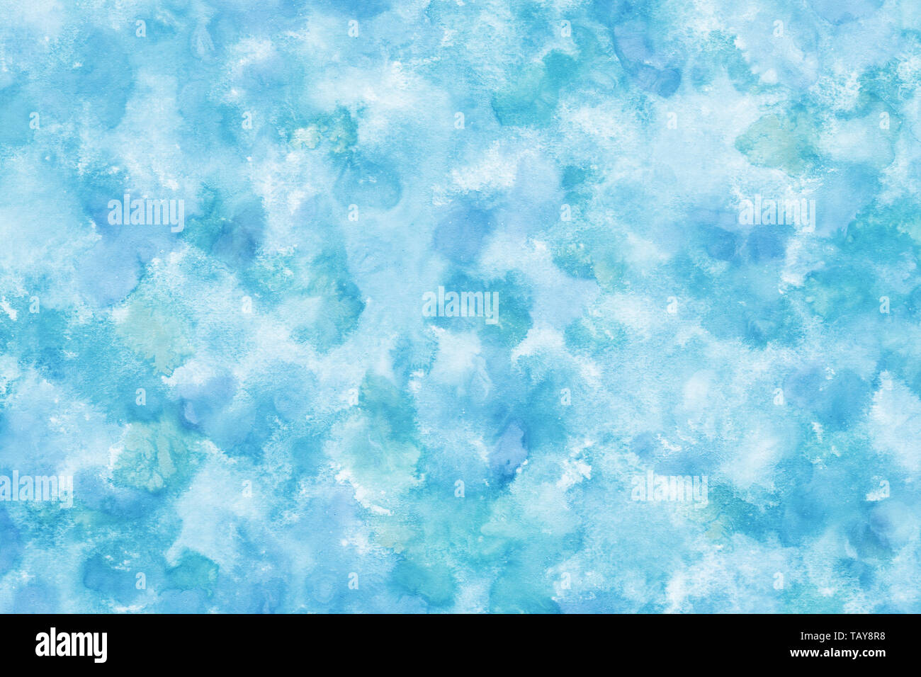 Pastel Color Blue Abstract Or Watercolor Paint Texture Background Stock Photo Alamy