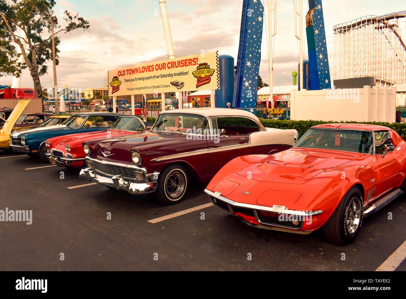 Car Show Orlando >> Orlando Florida December 28 2018 Saturday Nite Classic