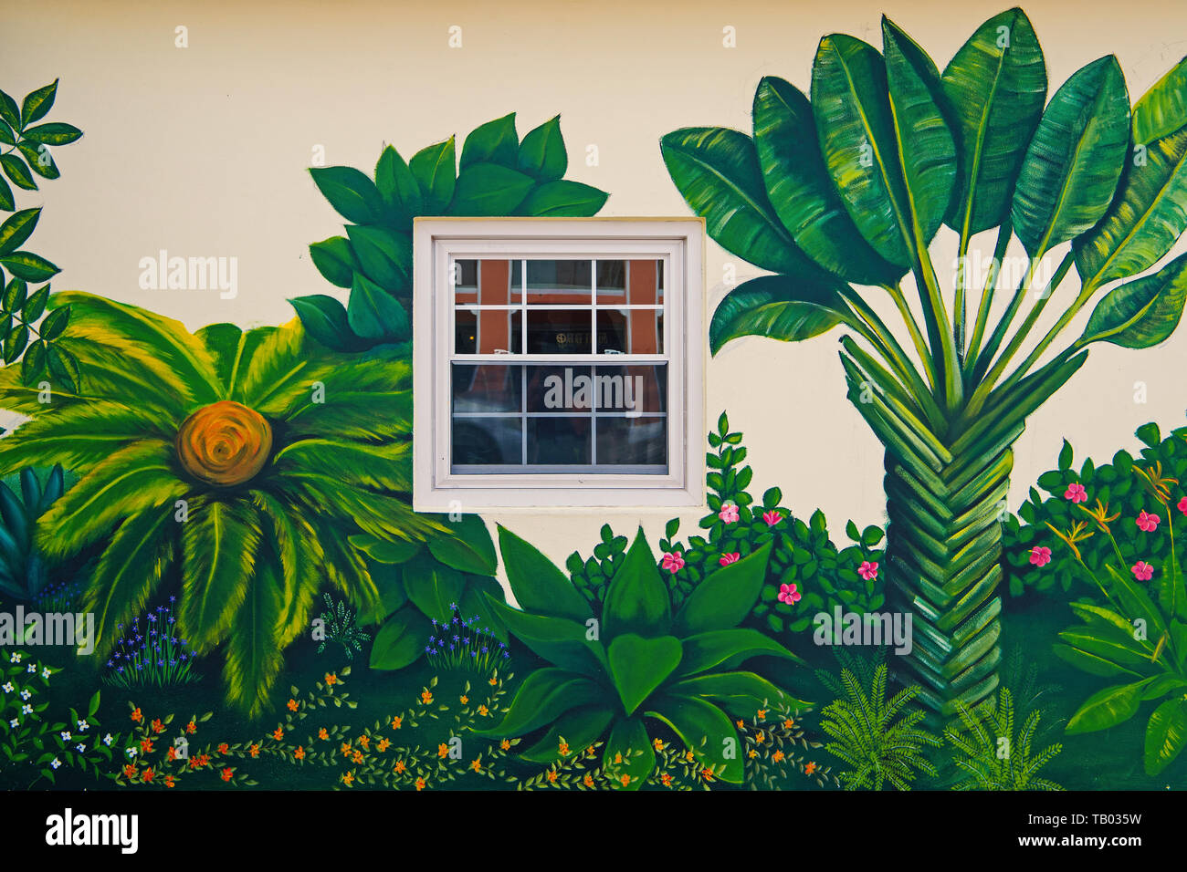 Garden Wall Art High Resolution Stock Photography and Images - Alamy