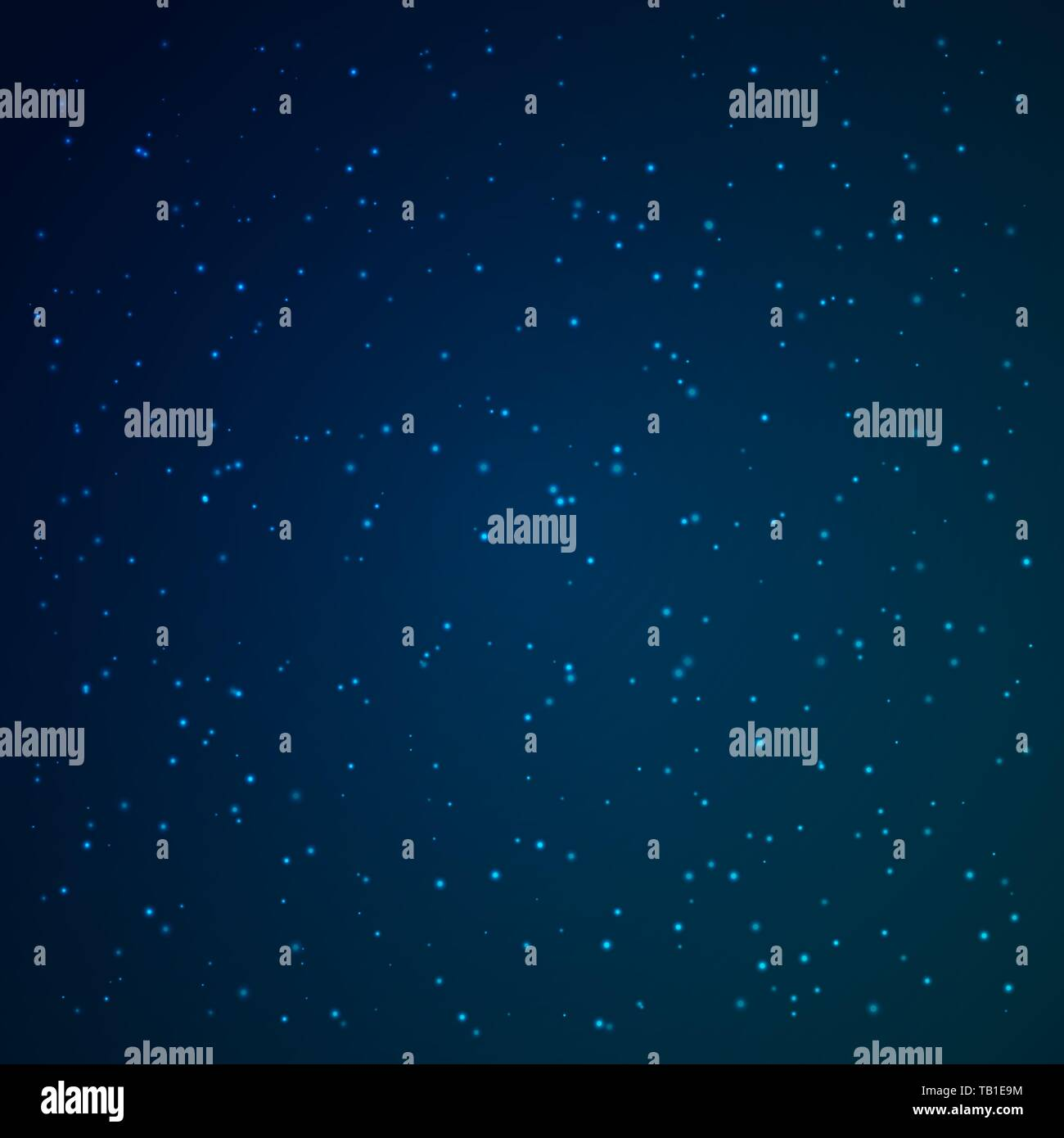 Space background. Vector illustration. Shiny Stardust Wallpaper - Stock Vector