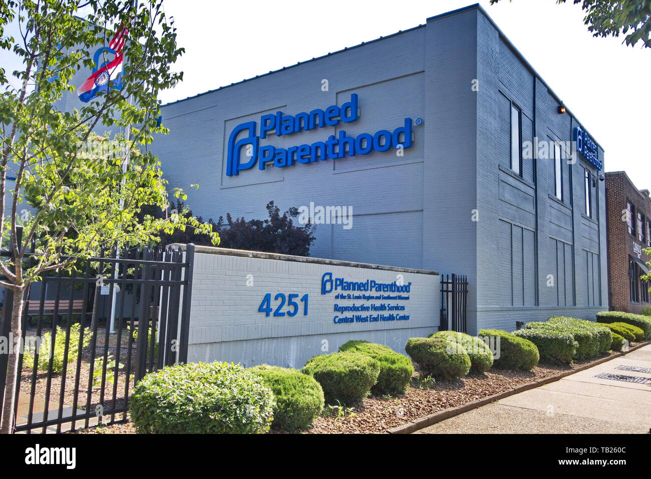 St. Louis, Missouri, USA. 29th May, 2019. Missouri could be the first state in the country to stop providing abortions if the last abortion clinic in Missouri, Planned Parenthood in St. Louis, closes at the end of the week. Credit: Steve Pellegrino/ZUMA Wire/Alamy Live News Stock Photo