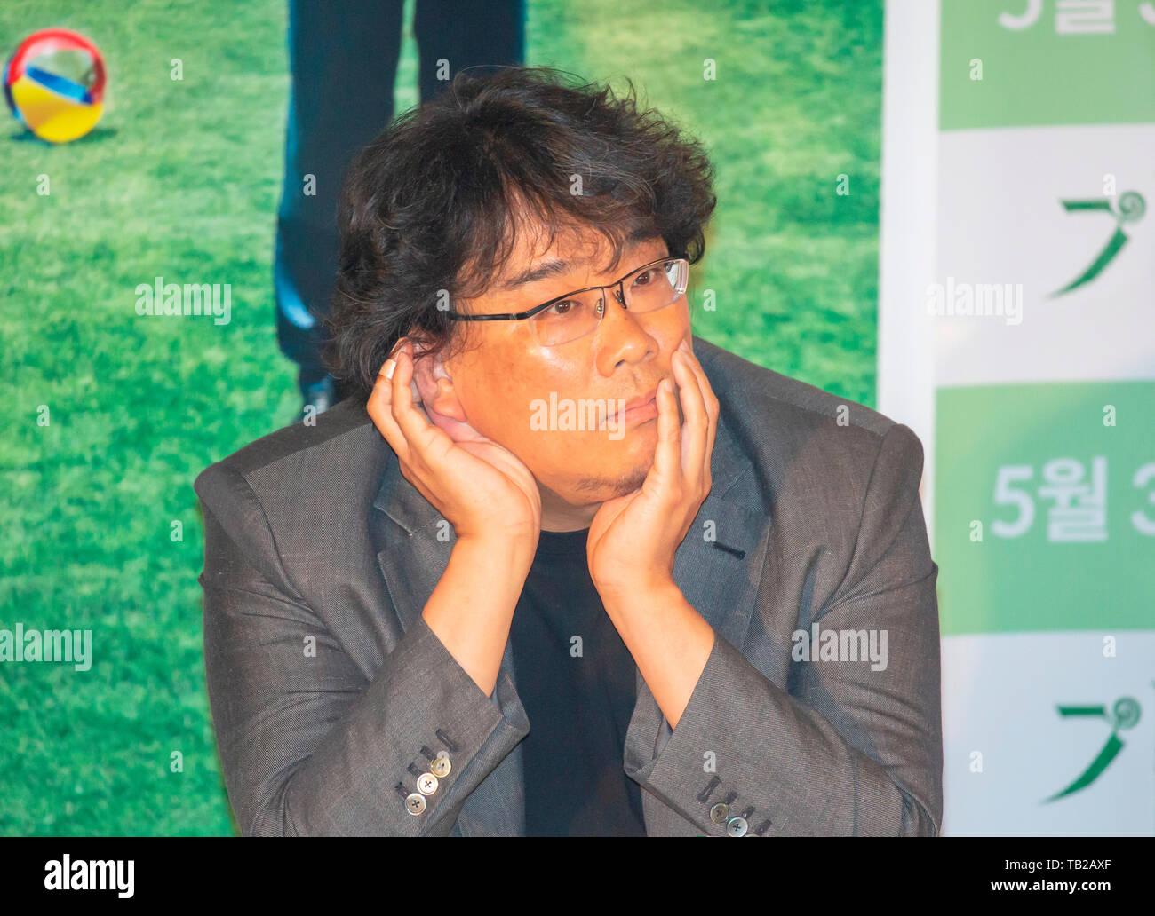 Bong Joon-Ho, May 28, 2019 : South Korean director Bong Joon-Ho