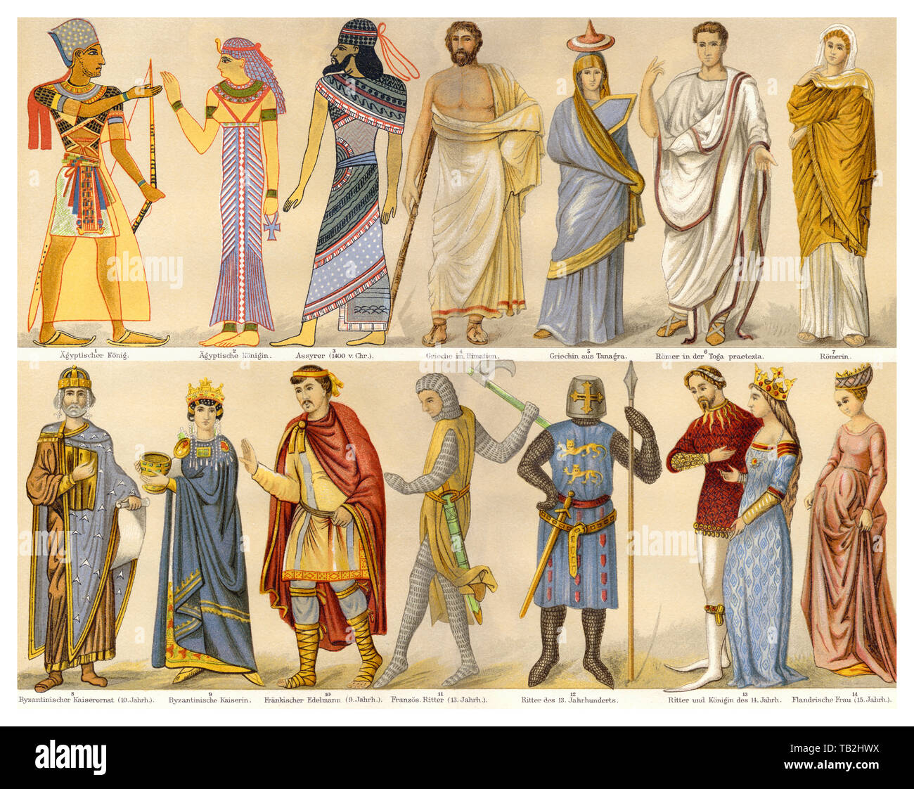 Middle Ages Clothing Stock Photos & Middle Ages Clothing