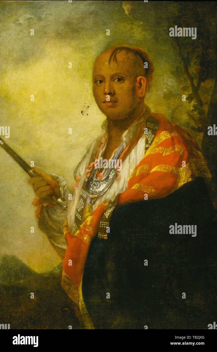 Joshua Reynolds - Scyacust Ukah 1762 - Stock Image