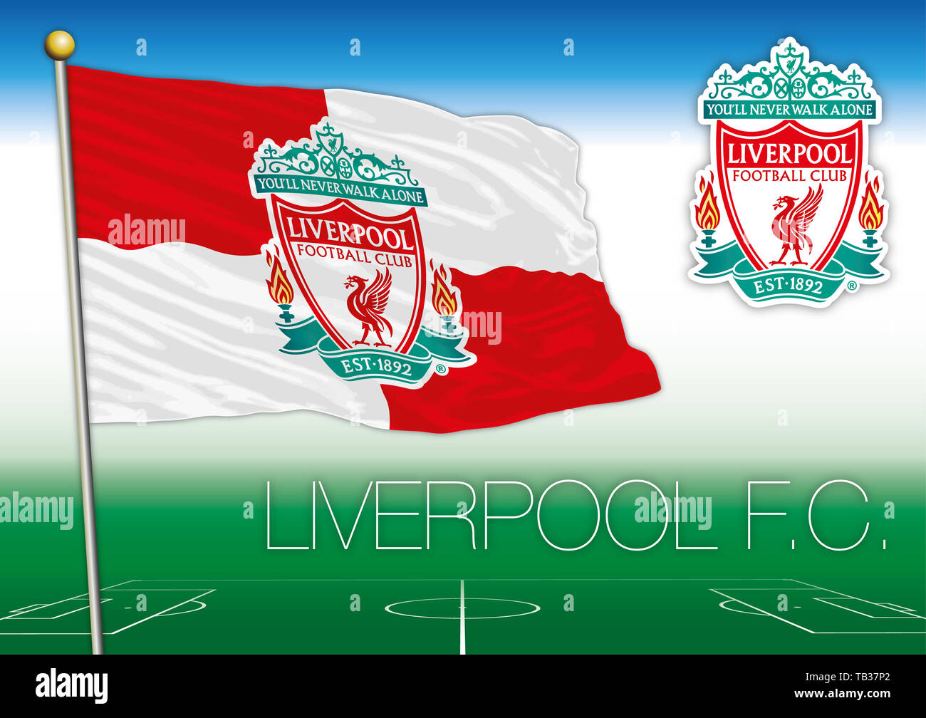 Liverpool Fc Logo Stock Photos & Liverpool Fc Logo Stock