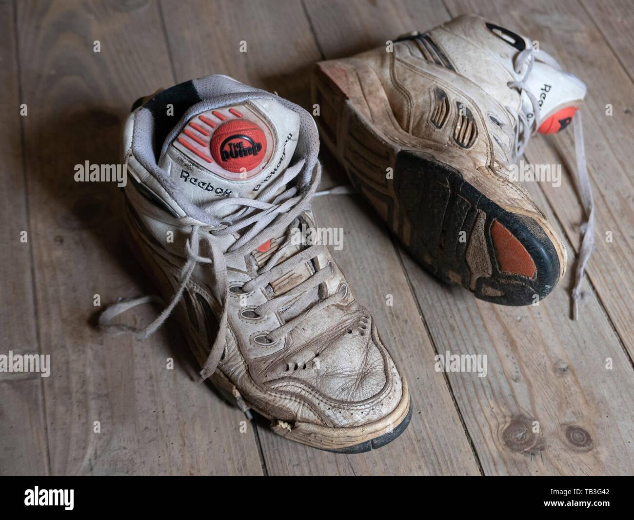 1990's reebok basketball shoes