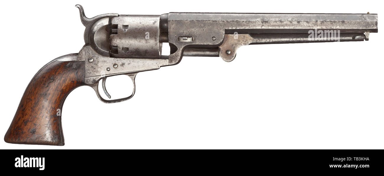 Colt 1851 Navy Stock Photos & Colt 1851 Navy Stock Images