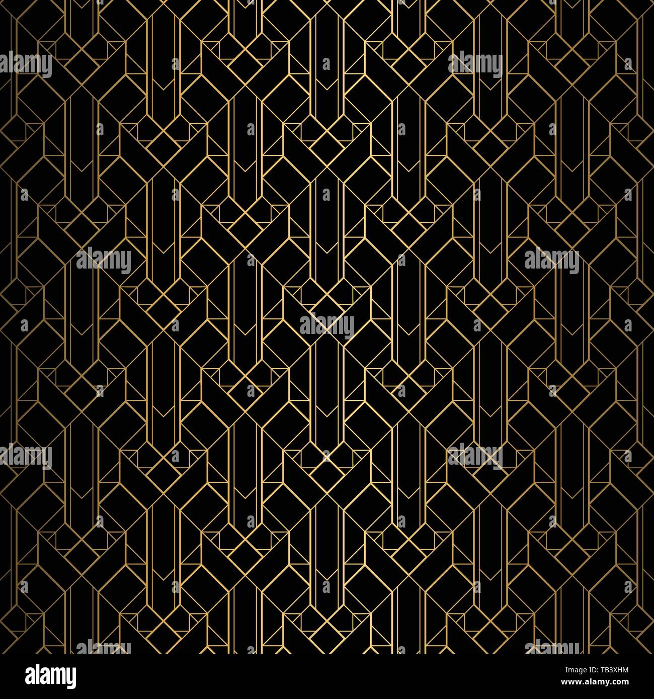 Terrific Art Deco Pattern Seamless Black And Gold Background Download Free Architecture Designs Grimeyleaguecom
