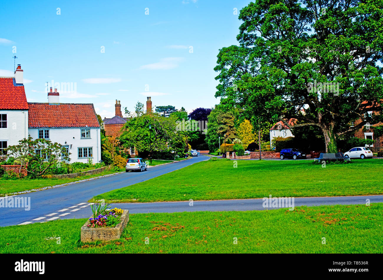 Alborough, North Yorkshire, England Stock Photo