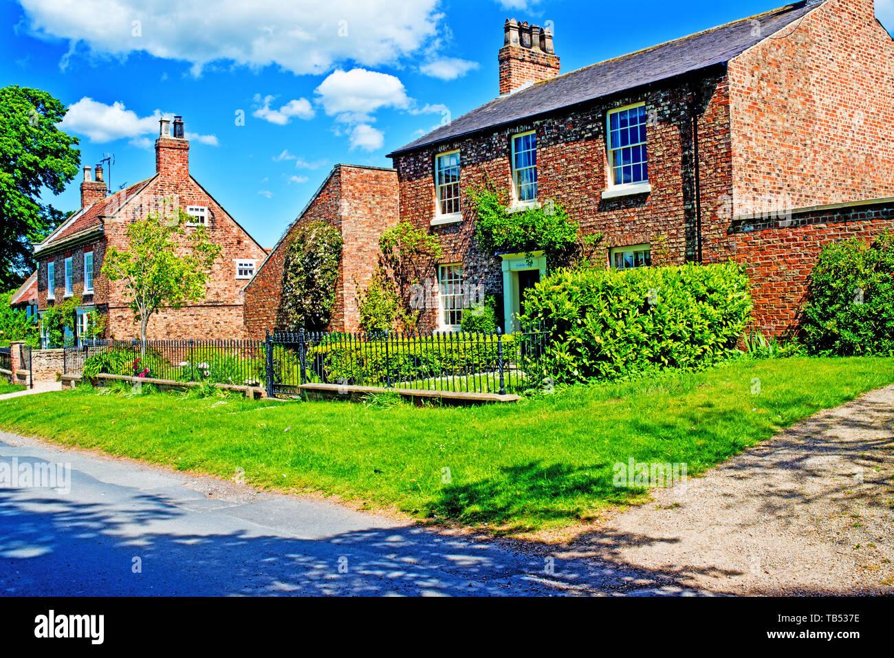 Green Hammerton, North Yorkshire, England Stock Photo