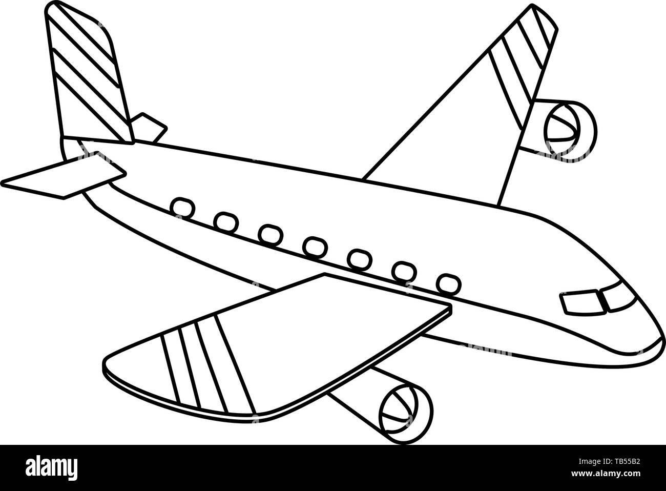 Cartoon Aircraft High Resolution Stock Photography And Images Alamy