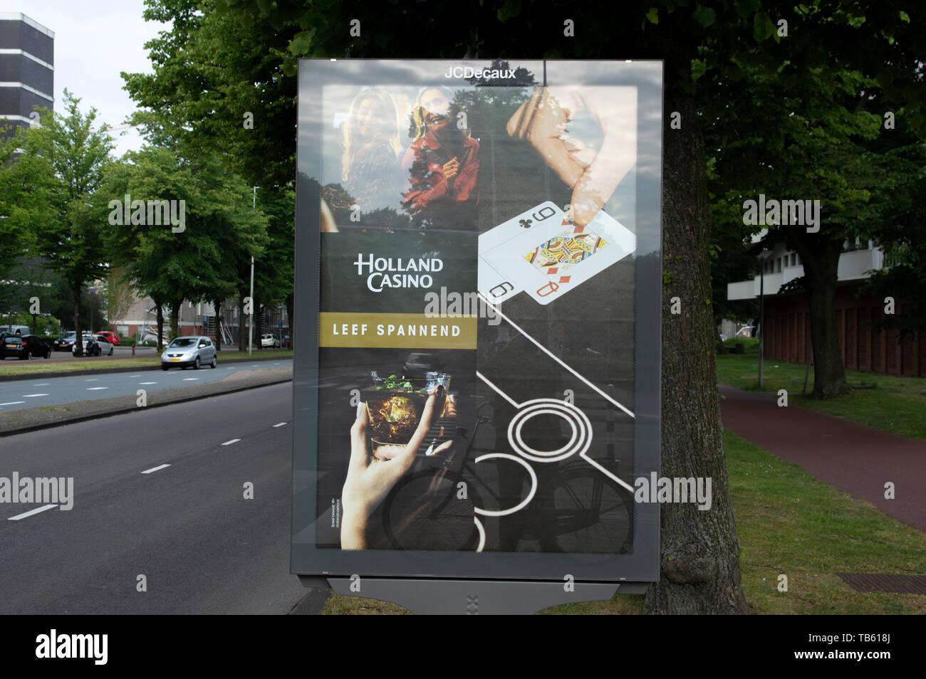 Billboard Holland Casino At Amsterdam The Netherlands 2019 Stock Photo Alamy
