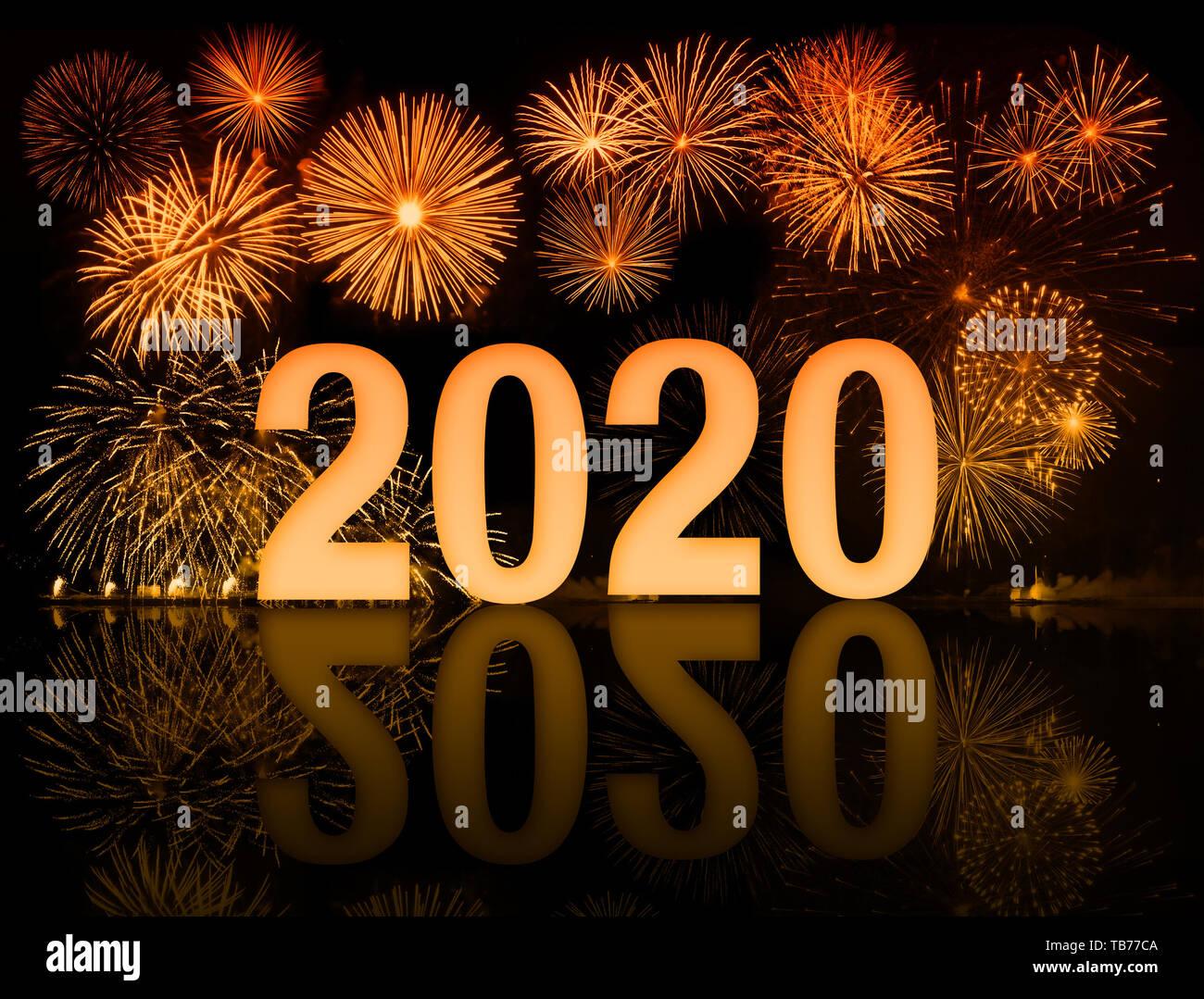 Happy New Year Orange 56