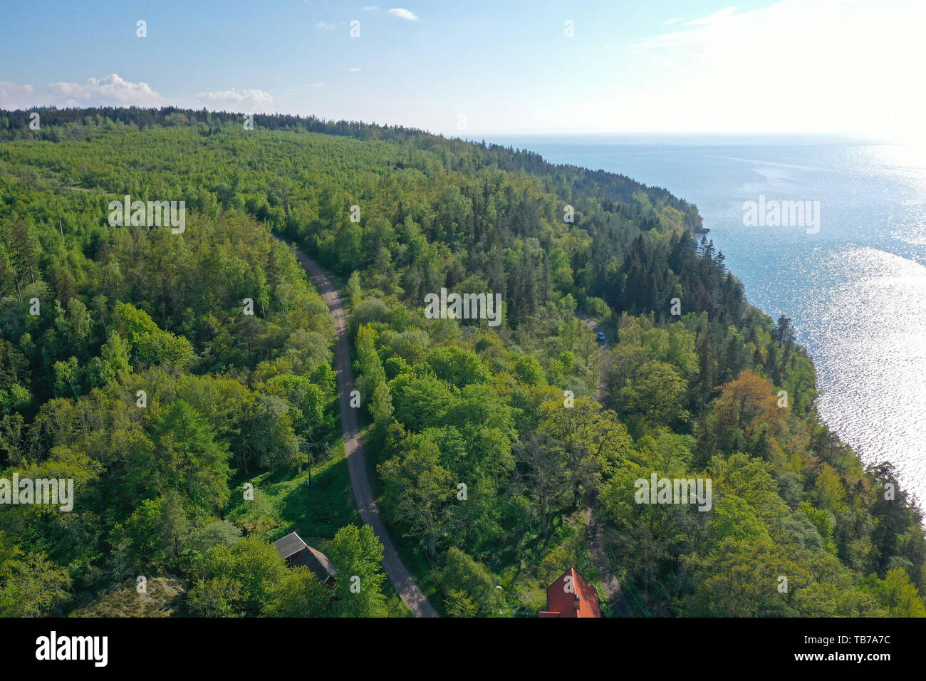 Omberg 20190519 Vy Over Ekoparken Omberg Omberg Is A Forested Mountain In The Western Ostergotland County In Sweden Foto Jeppe Gustafsson Stock Photo Alamy