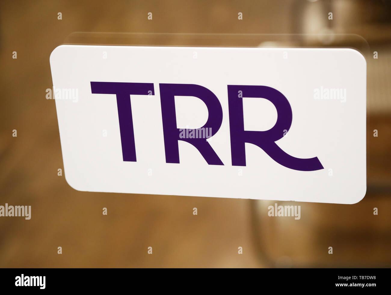 TRELLEBORG 20190515 TRR, Trygghetsråd är partssammansatta organisationer med uppgift att ge stöd till anställda, arbetsgivare och fackliga organisationer vid uppsägning på grund av arbetsbrist. Foto Jeppe Gustafsson - Stock Image