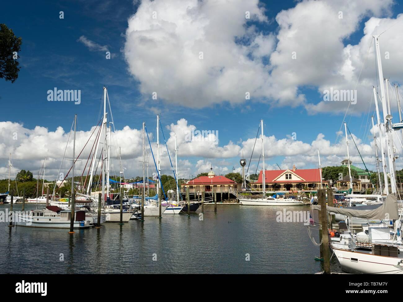Whangarei Marina Stock Photos & Whangarei Marina Stock