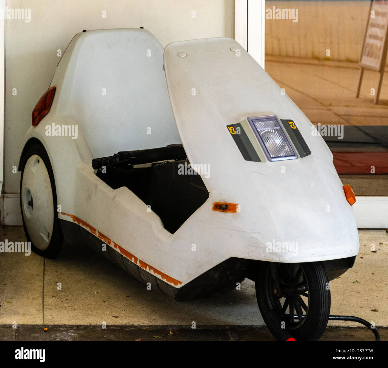Electric Trike Stock Photos & Electric Trike Stock Images - Alamy