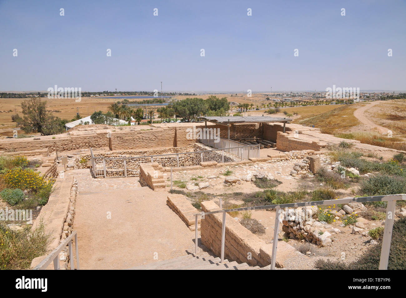 Israel, Negev, Tel Be'er Sheva...