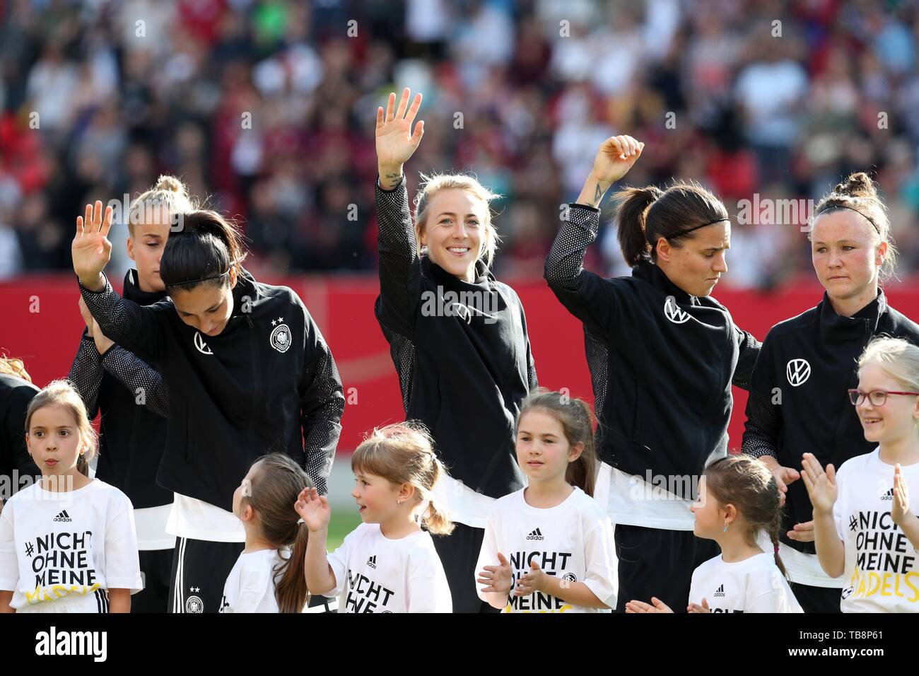 firo: 30.05.2019, Football, Landerspiel, Test Game Women, Germany - Chile, | usage worldwide - Stock Image