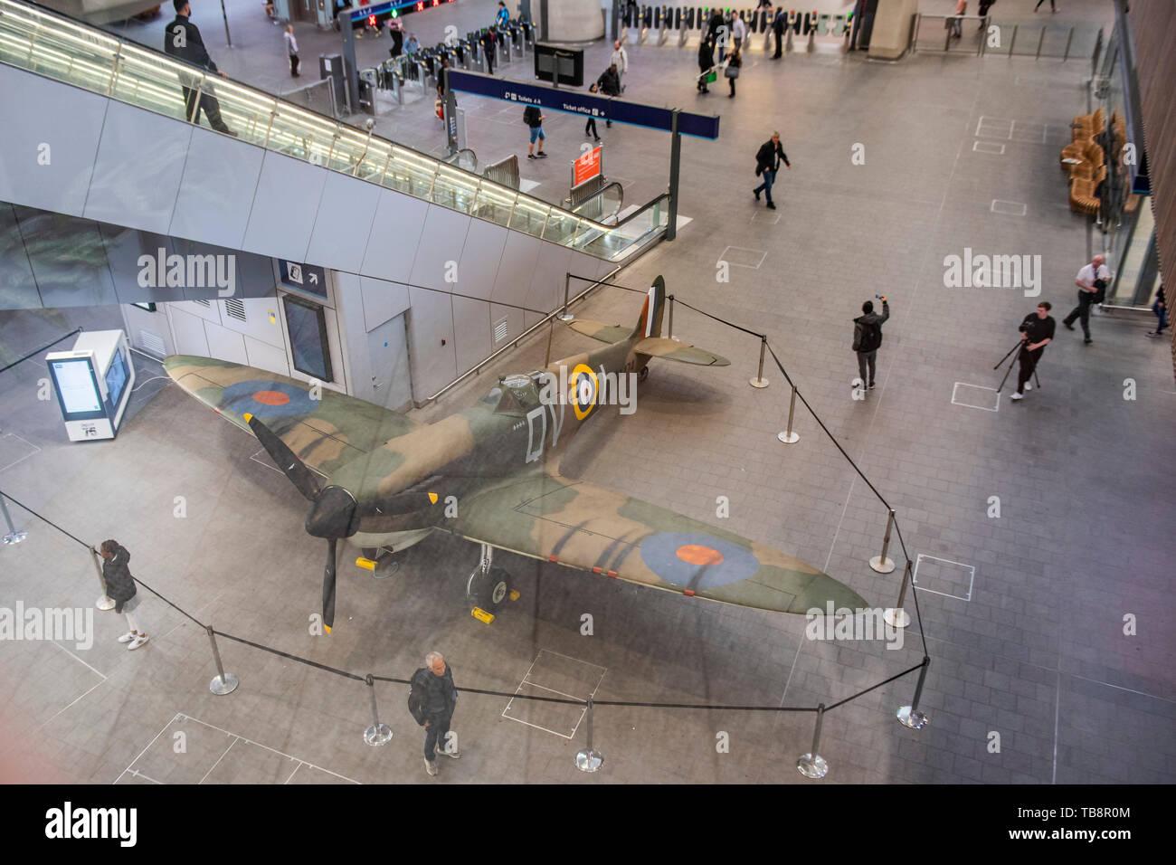 Spitfire Replica Stock Photos & Spitfire Replica Stock