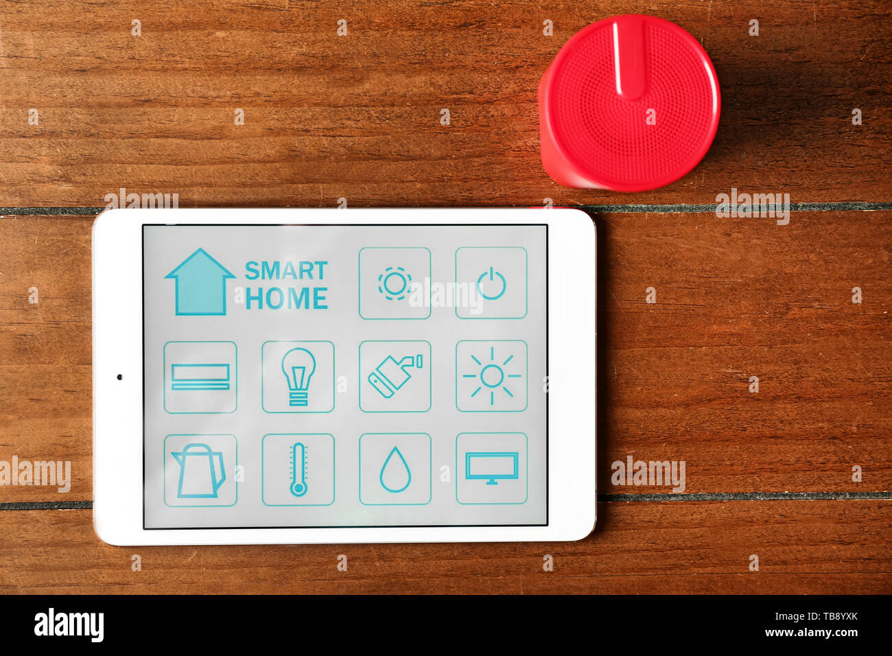 Internet Things Flat Icons Stock Photos & Internet Things Flat Icons