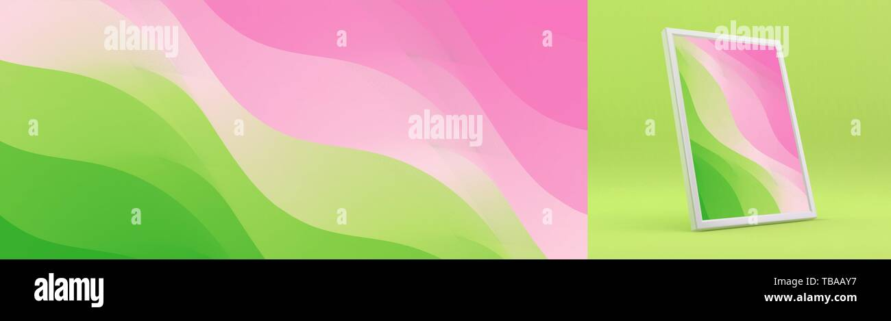 Abstract background with trendy gradients. Vector illustration for mobile phone cover and screen. Stock Vector
