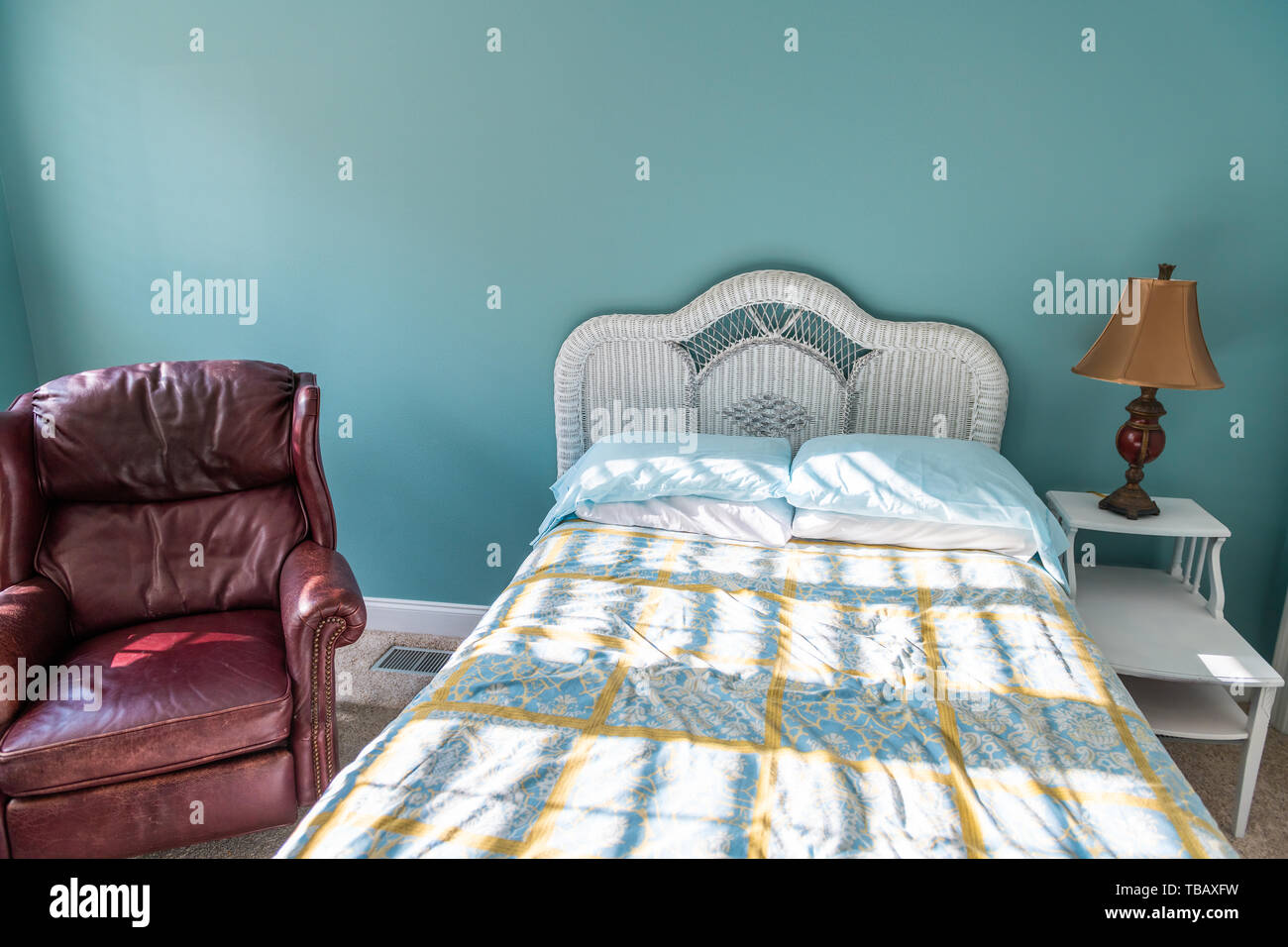 Leather Headboard High Resolution Stock Photography And Images Alamy