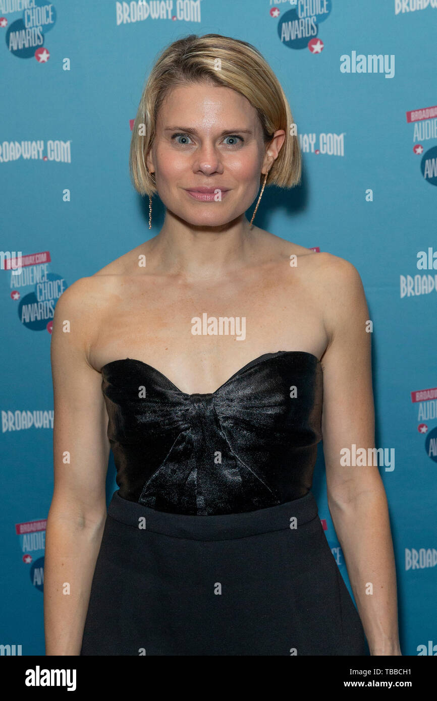 New York, United States. 30th May, 2019. Celia Keenan-Bolger attends Broadway.com Audience Choice Awards at 48 Lounge Credit: Lev Radin/Pacific Press/Alamy Live News - Stock Image