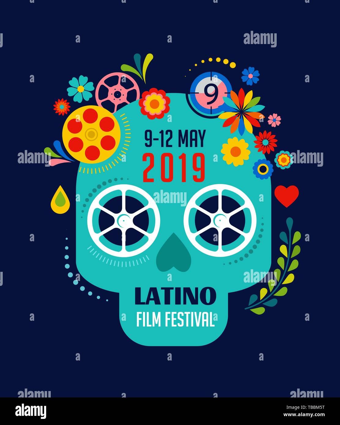 Film Festival Cinema And Movie Poster Template Creative