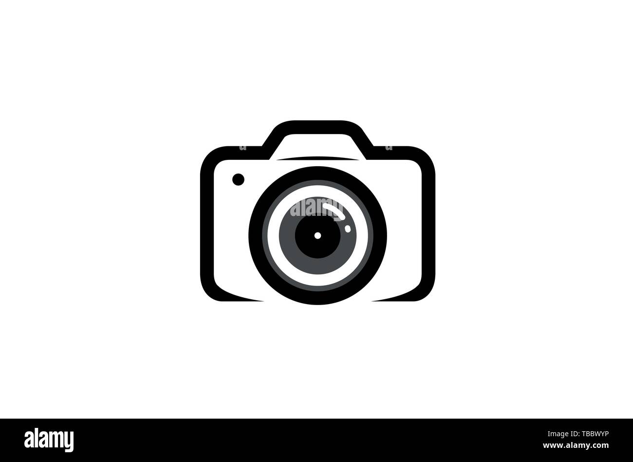 Creative Black Camera Logo Design Symbol Vector Illustration Stock Vector Image Art Alamy
