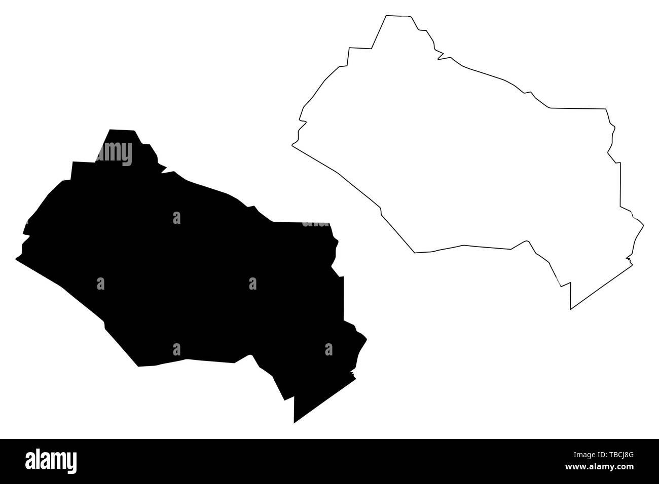 Kyzylorda Region (Republic of Kazakhstan, Regions of Kazakhstan) map ...