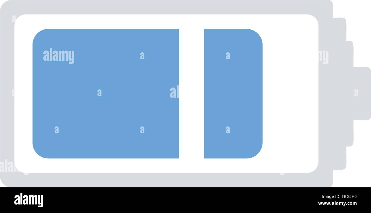 Battery icon vector - sign - Stock Vector