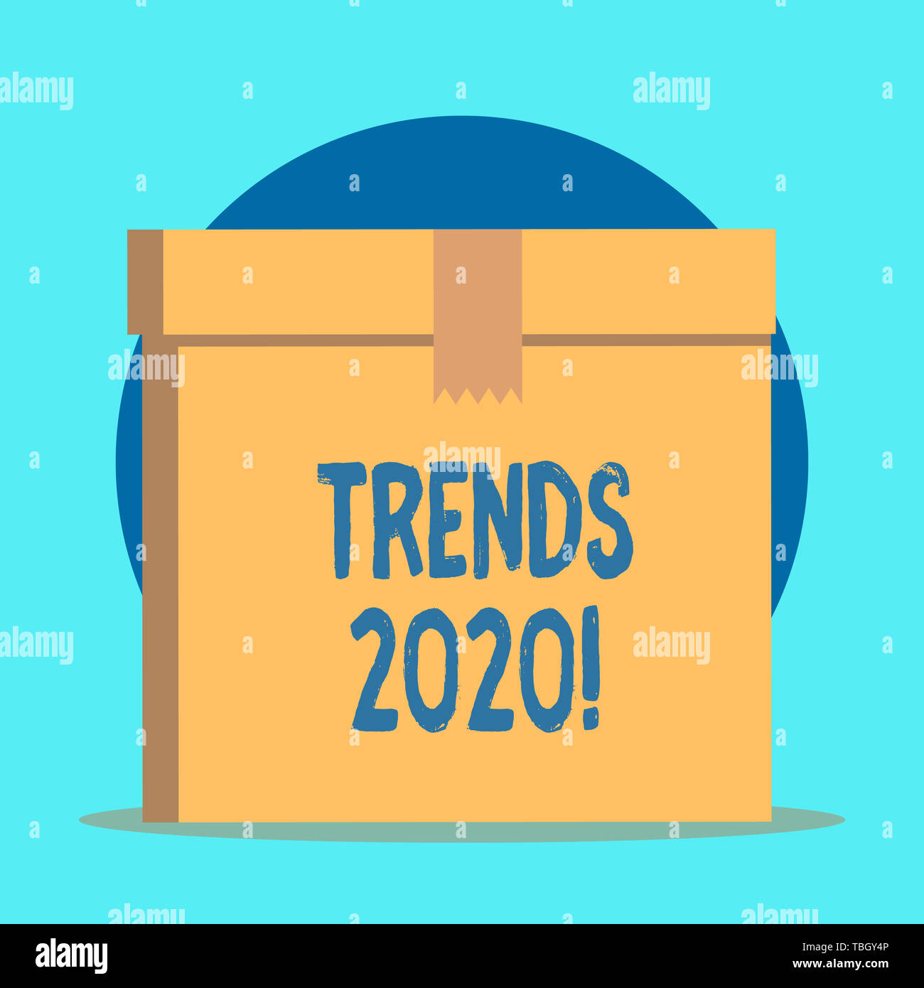 Writing note showing Trends 2020  Business concept for general