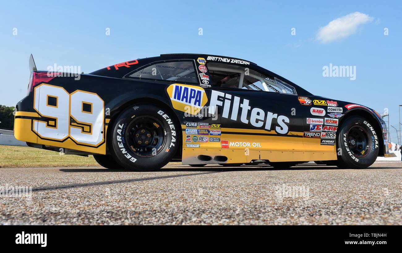 Memphis International Raceway >> Memphis Tn Usa 01st June 2019 The Napa Filters Toyota
