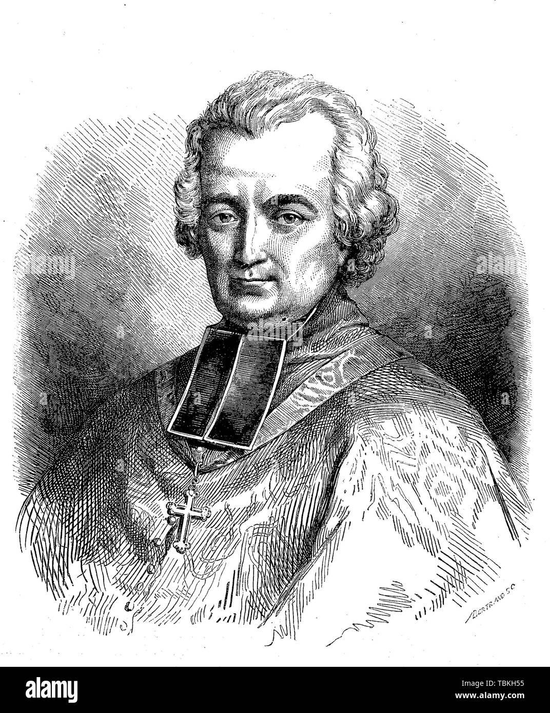 Jean-Louis Anne Madelain Lefebvre de Cheverus, known as John