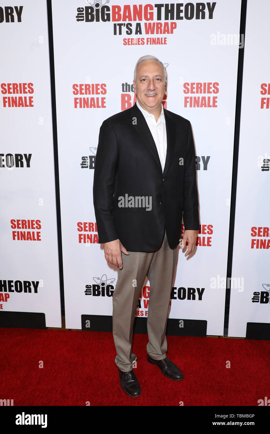 'The Big Bang Theory' Finale Party at The Langham Huntington Hotel  Featuring: Michael J. Massimino Where: Los Angeles, California, United States When: 01 May 2019 Credit: Sheri Determan/WENN.com - Stock Image
