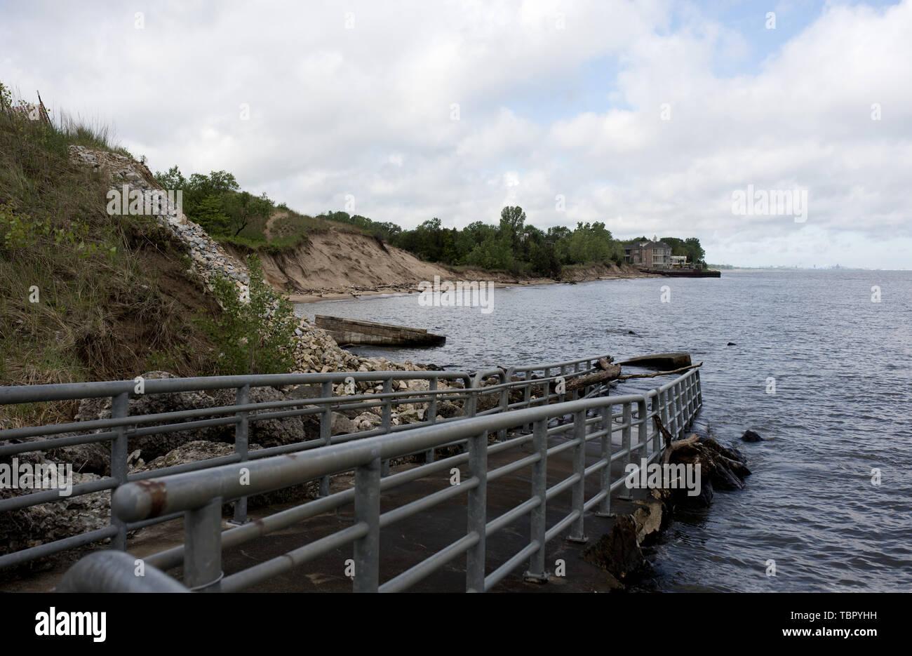 Portage Lake Michigan Stock Photos & Portage Lake Michigan