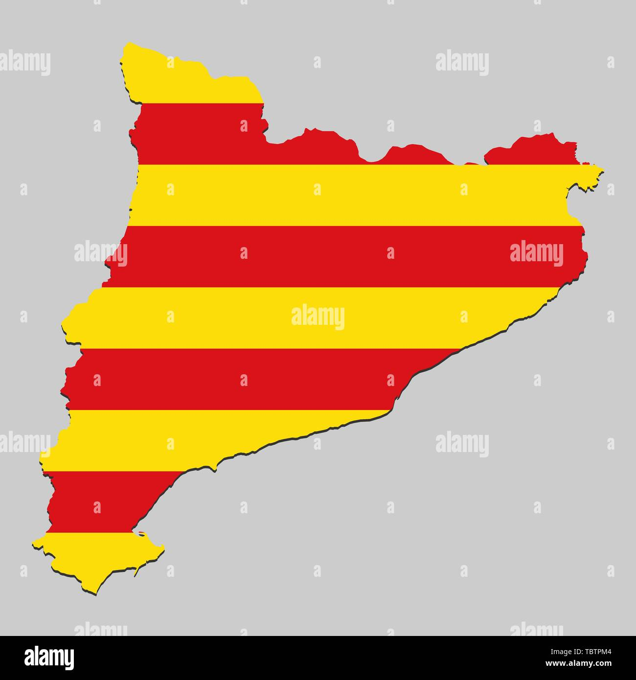 Map Of Spain And Catalonia.Map Of Catalonia Stock Photos Map Of Catalonia Stock Images Alamy