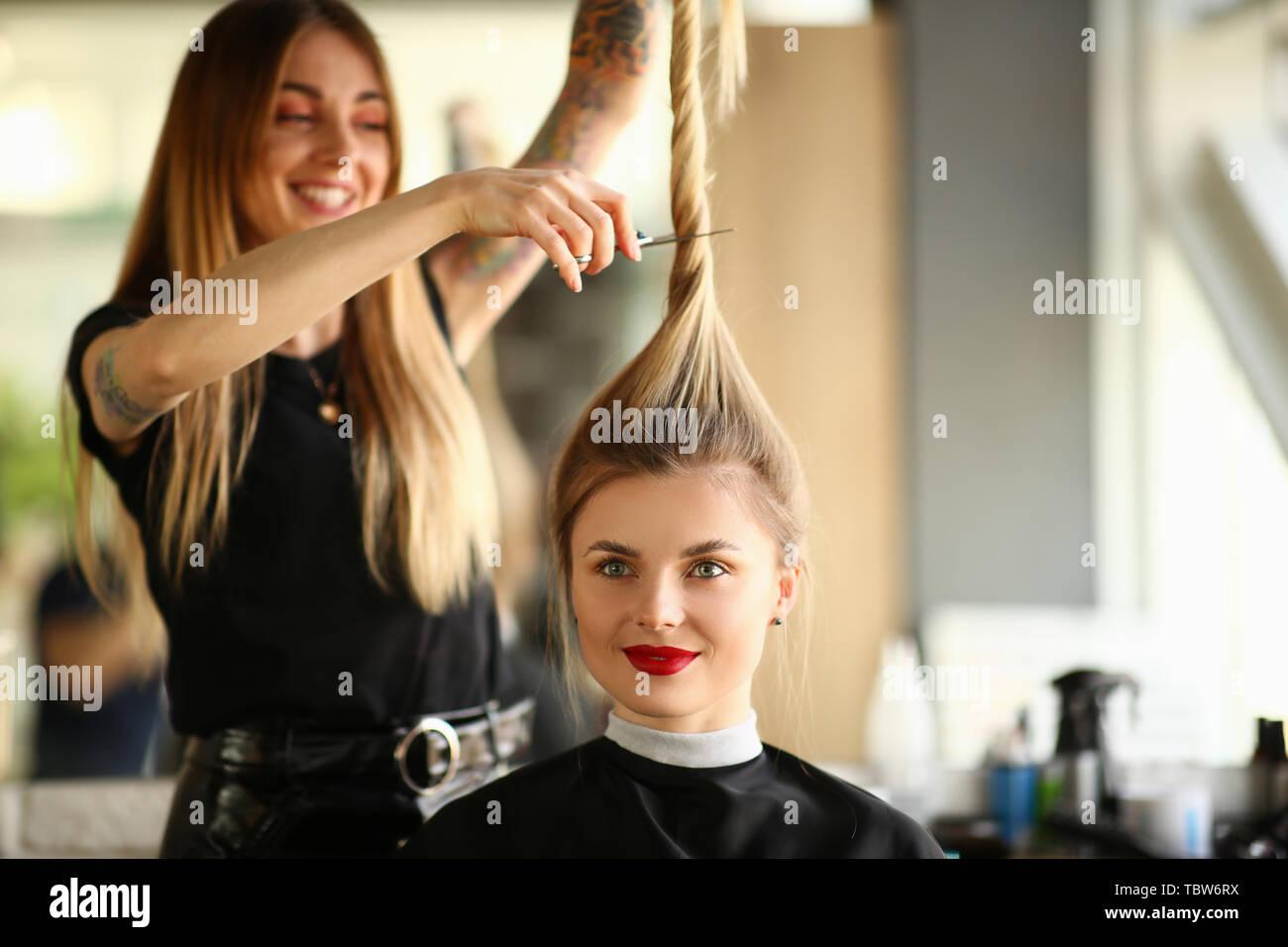 Getting A Haircut 58