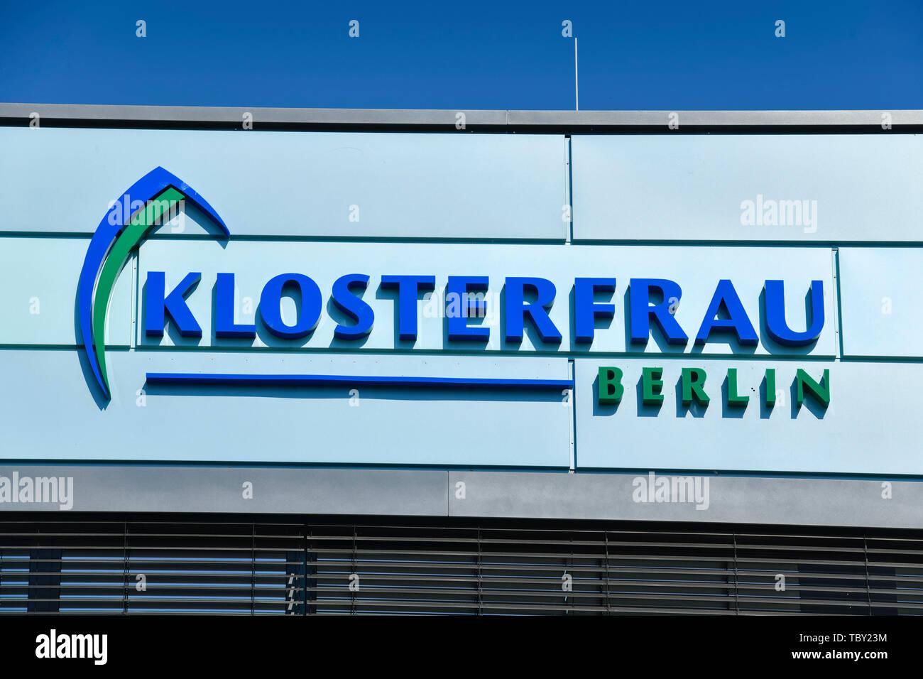 Cloister woman Pharma, Motzener street, to Marien's field, temple court nice mountain, Berlin, Germany, Klosterfrau Pharma, Motzener Straße, Marienfel Stock Photo