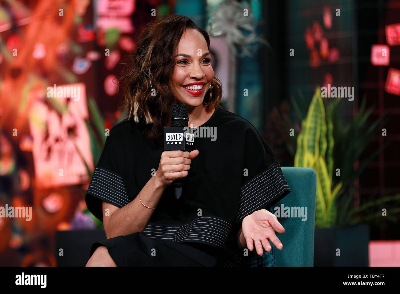 New York, USA  3 June, 2019  Amanda Brugel at the BUILD Series