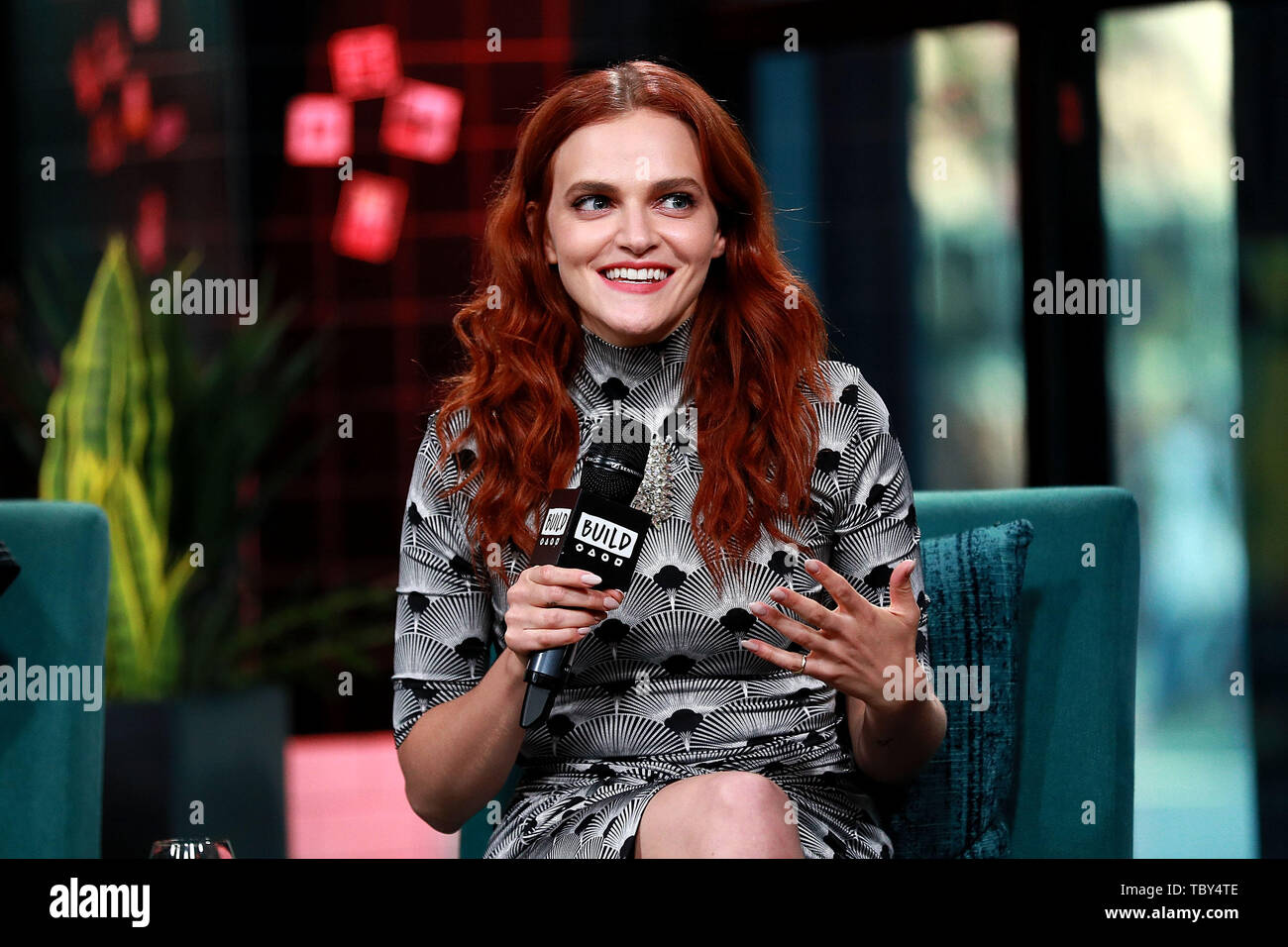 New York, USA  3 June, 2019  Madeline Brewer at the BUILD Series